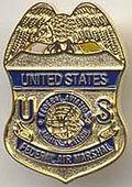 US air marshal badge