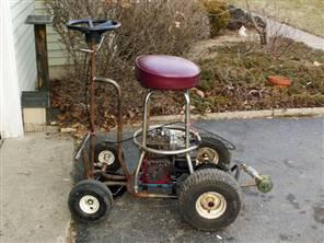 Motorized bar stool