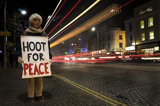 Hoot for Peace