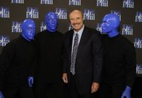 Dr. Phil and Blue Man Group