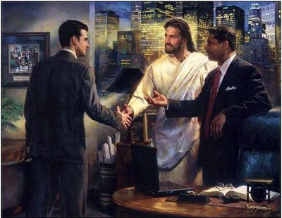Jesus as Senior Partner