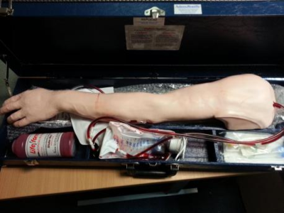 Recovered prosthetic arm