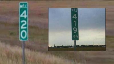 419.99 mile marker